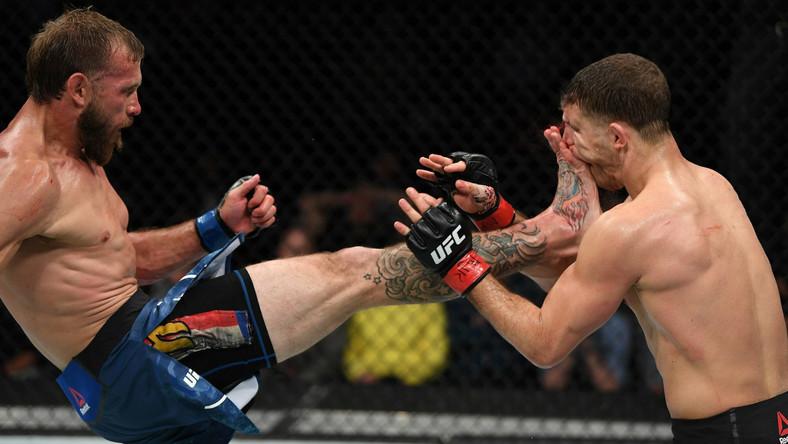 Donald Cowboy Cerrone fight result who won Conor McGregor
