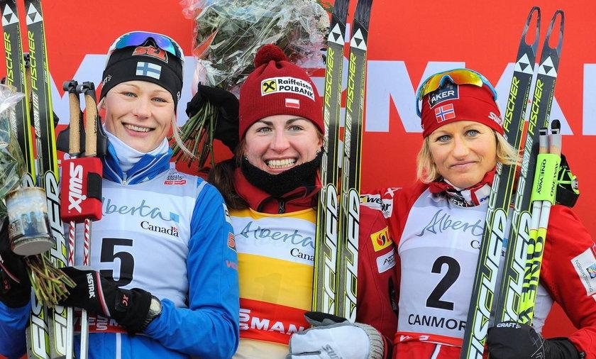 Justyna Kowalczyk wygrała bieg łączony!