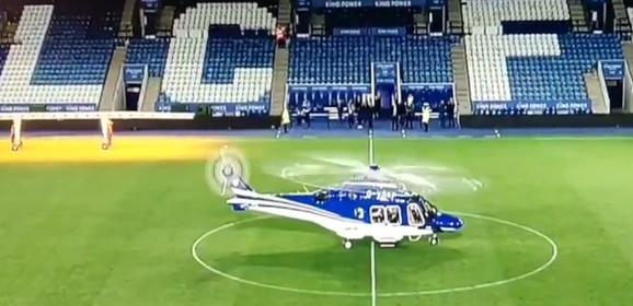 Trenutak poletanja helikoptera u kome je bio i Vičaj Srivadanapraba