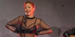 Rita Ora w Warszawie. Wyglądała jak bogini seksu