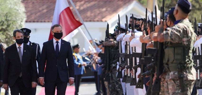 Andrzej Duda wylądował na Cyprze. Wiemy, o czym będzie rozmawiał z prezydentem kraju