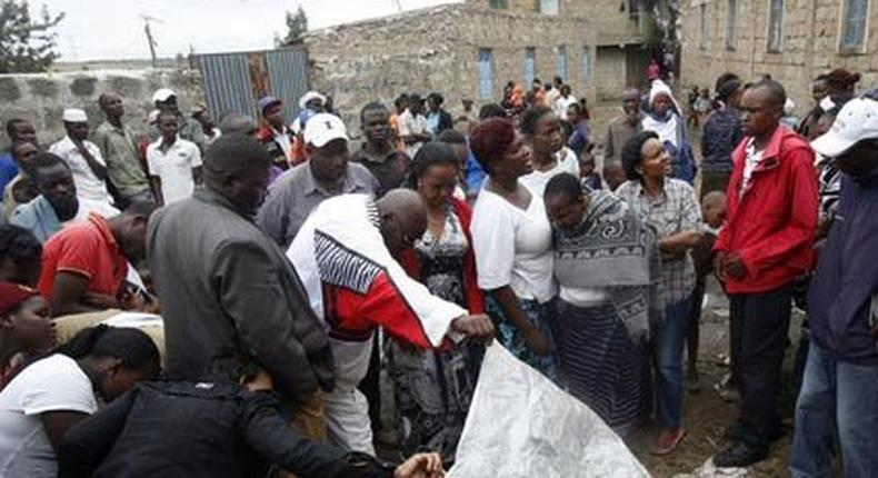 3 Kayole gangsters gunned down during a robbery