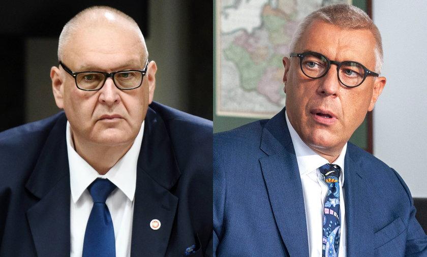 Bogdan Święczkowski i Roman Giertych