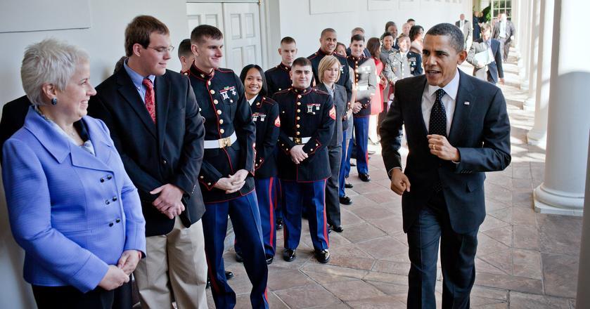 Prezydent Barack Obama codziennie zaczyna dzień od treningu
