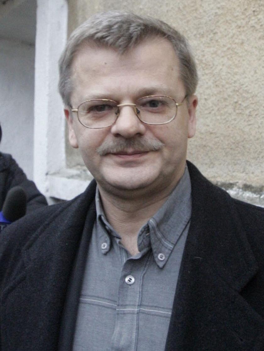 Krzysztof Gospodarek (59 l.), syn Violetty Villas († 73 l.)