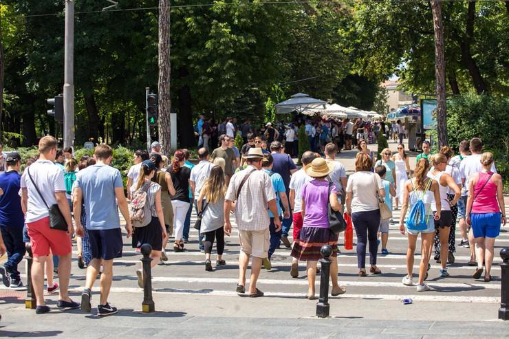 Vrelina Beograd Toplo Sunčano Vruće Vreme