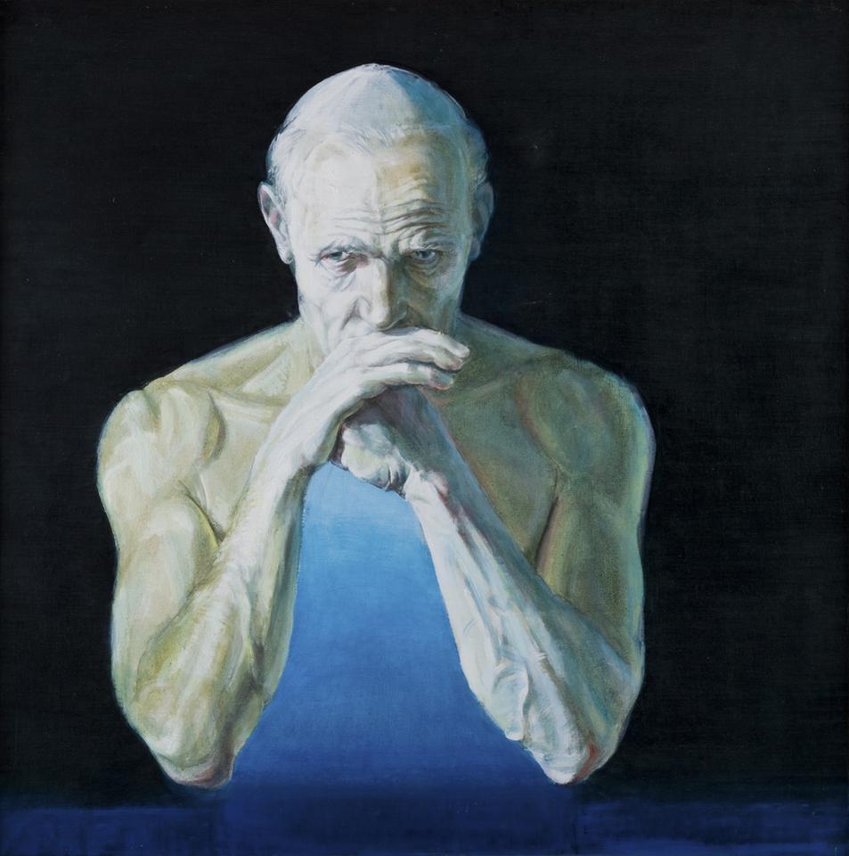 Leszek Sobocki, Polak, 1979, olej na pilśni, fot. MNK