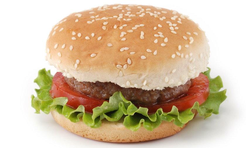 Nietypowy składnik hamburgera