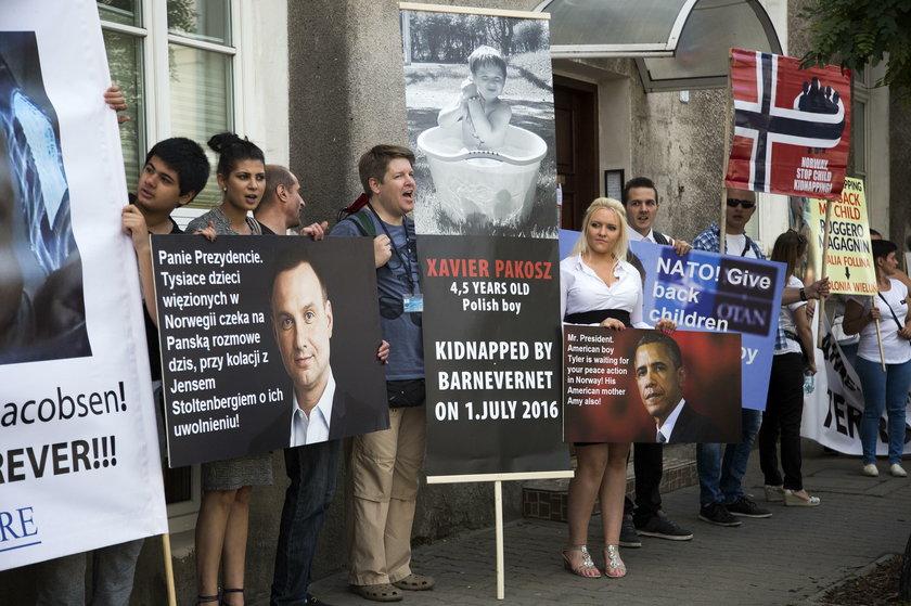 Protest przeciwko Barnevernet