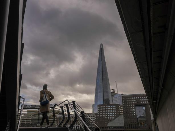 Wieżowiec Shard w Londynie, Wielka Brytania. 17.02.2020
