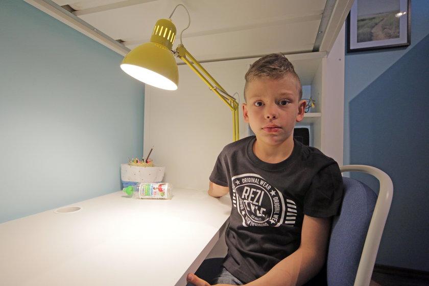 Dorian w swoim pokoju