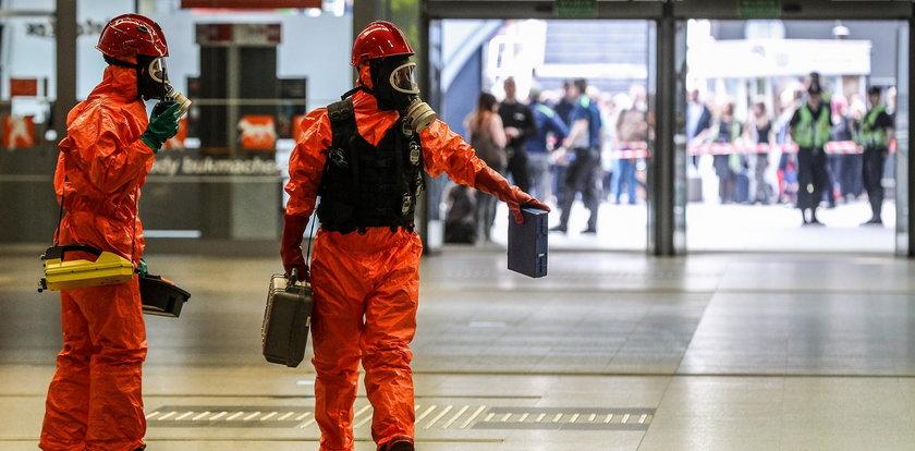 Atak chemiczny na dworcu w Krakowie. Spokojnie to tylko ćwiczenia