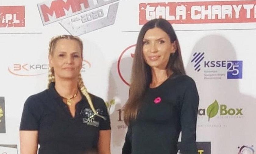 Dominika Tajner i Karolina Motylewska.