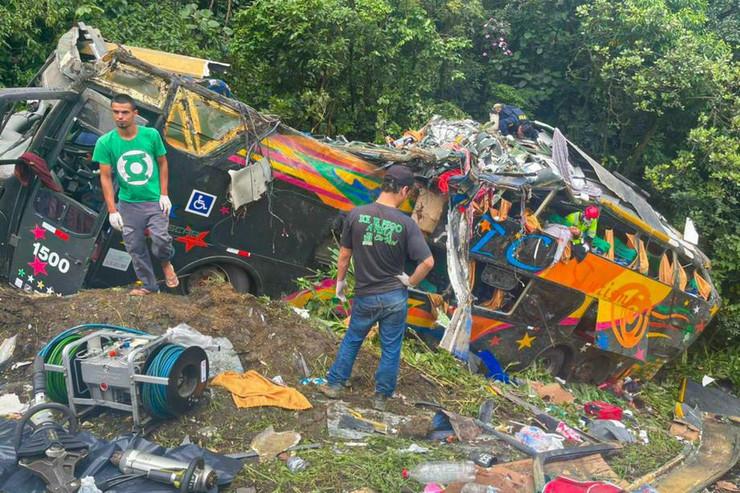 Brazil autobus nesreća