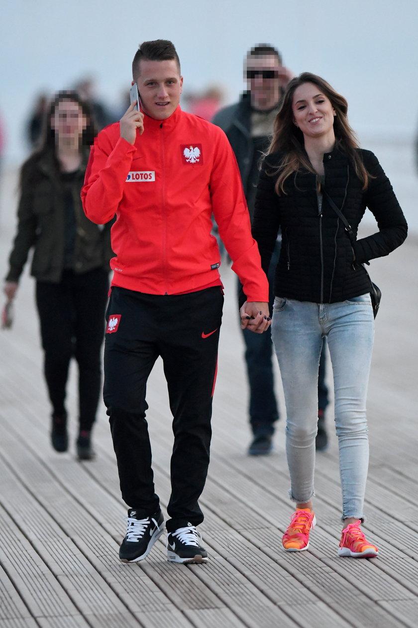 Piotr Zieliński i Laura Słowiak