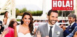 Eva Longoria wzięła ślub w sukni Viktorii Beckham