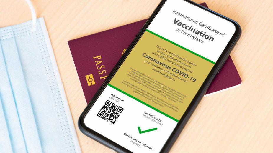 Teoretyczny paszport szczepionkowy