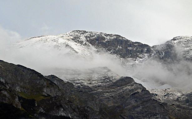 Tatry pod cienką warstwą śniegu