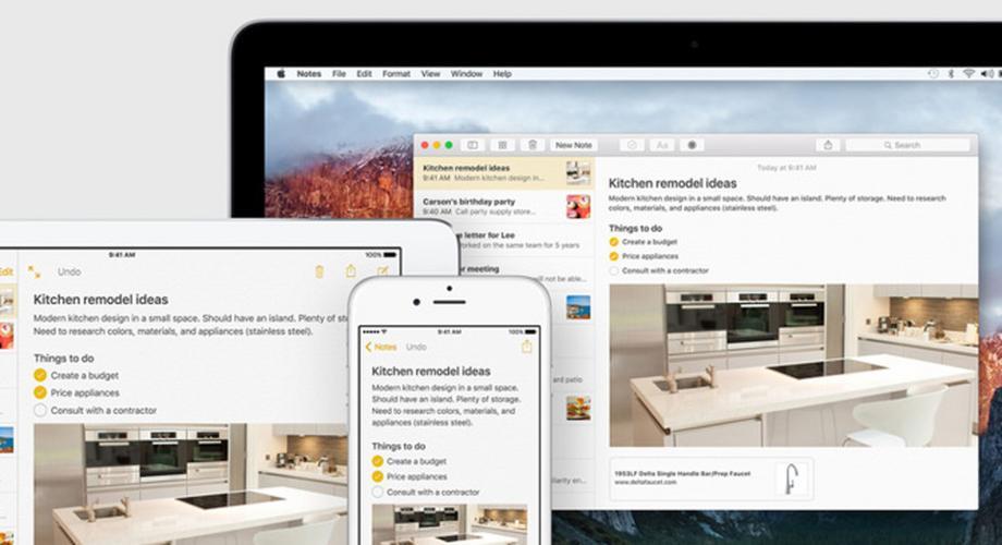 WWDC: Neue Notizen-App kann mehr als Text