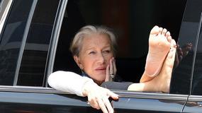 Helen Mirren pokazuje stopy