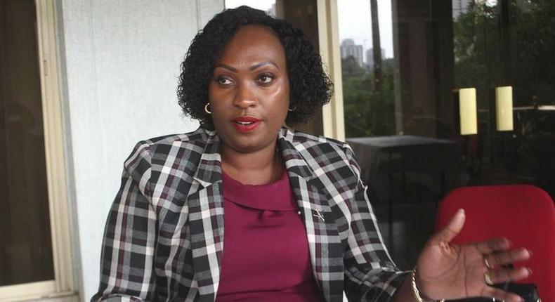 Nairobi deputy governor nominee Anne Kananu Mwenda