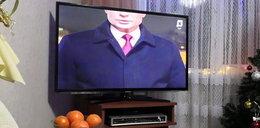 Skandal w rosyjskiej telewizji. Co stało się podczas orędzia Putina?