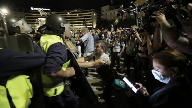 Protesti u Bugarskoj