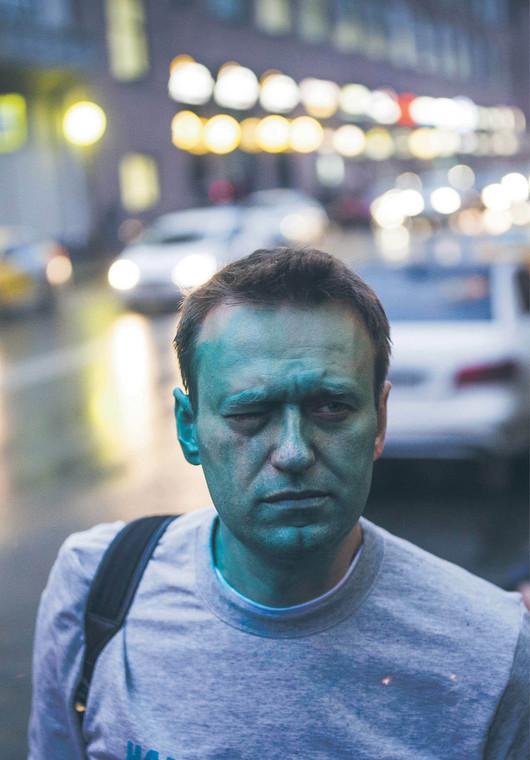 Aleksiej Nawalny został już raz zaatakowany w 2017 r.  fot. Evgeny Feldman/Wikipedia