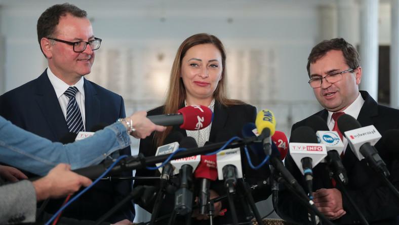 Arkadiusz Czartoryski, Małgorzata Janowska i Wojciech Girzyński