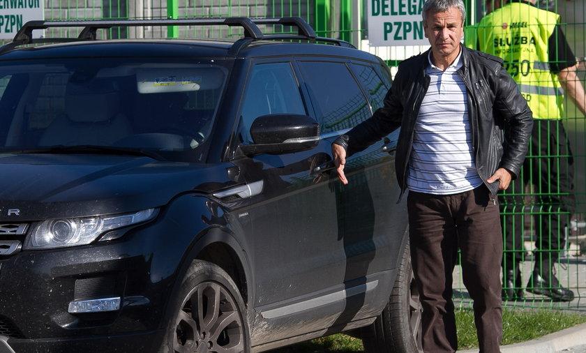 Range Rover Andrzeja Biernata