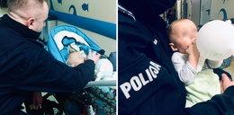 Zostawił u brata niemowlę i przepadł. Dzieckiem zajęła się... policja