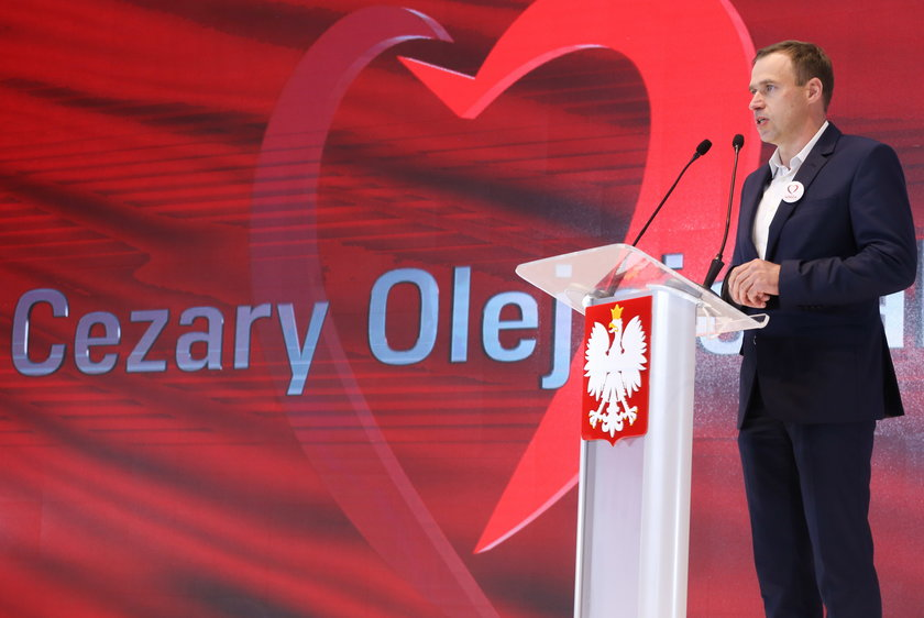 Poseł Cezary Olejniczak
