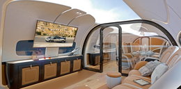 Nowa kabina Airbusa - jest piękna!