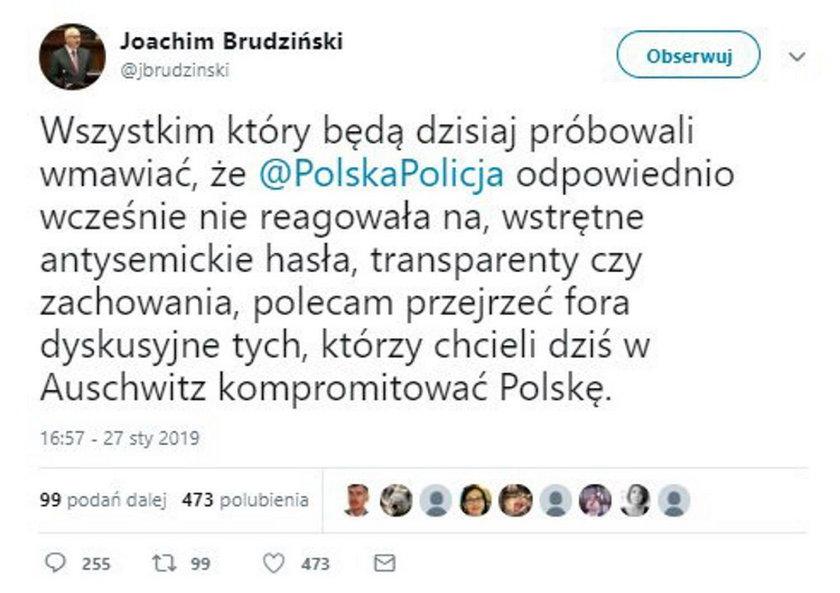 Policjo i prezydencie Oświęcimia! Jak mogliście dopuścić do takiego skandalu?