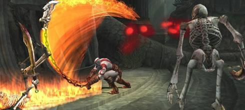 Screen z gry God of War II