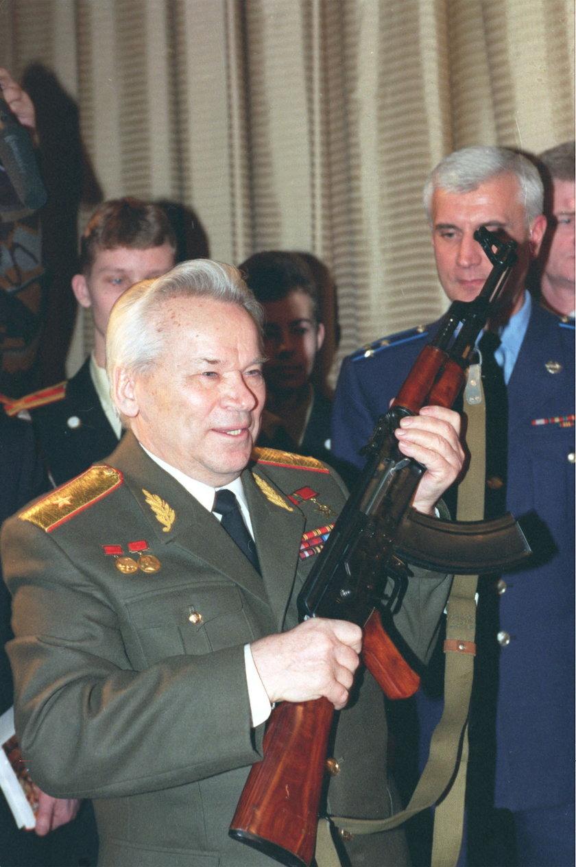 Wynalazca kałasznikowa Michaił Kałasznikow