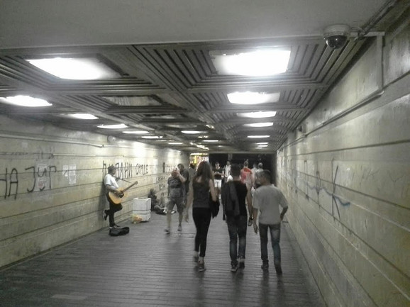 Podzemni prolaz na Zelenom vencu