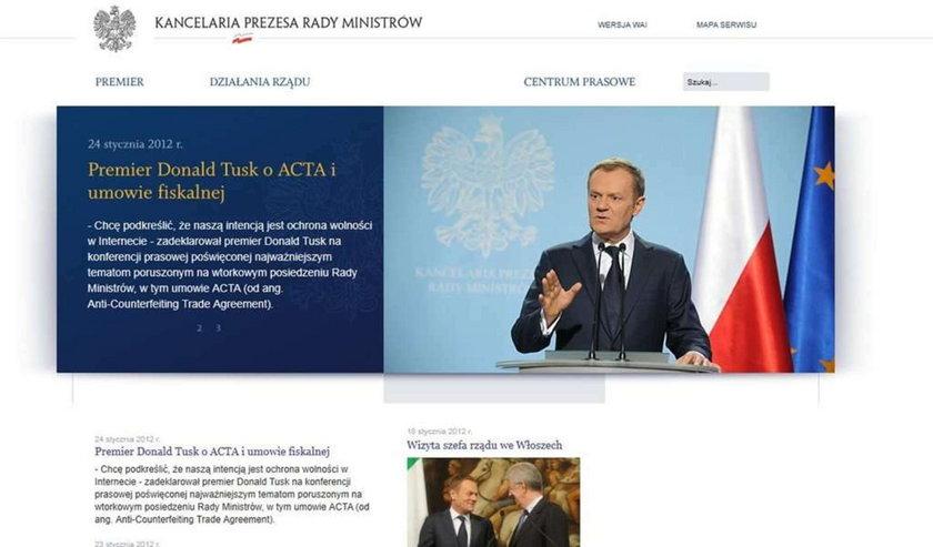 To on włamał się do premiera Tuska!
