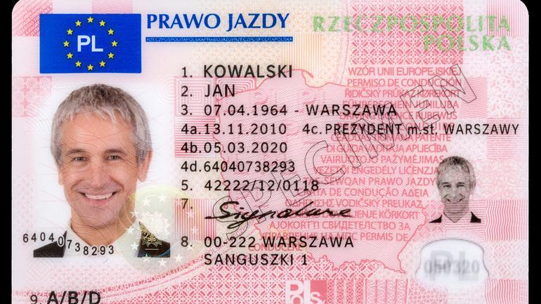 Polskie prawo jazdy