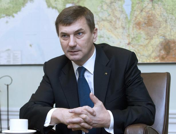 Andrus Ansip, premier Estonii