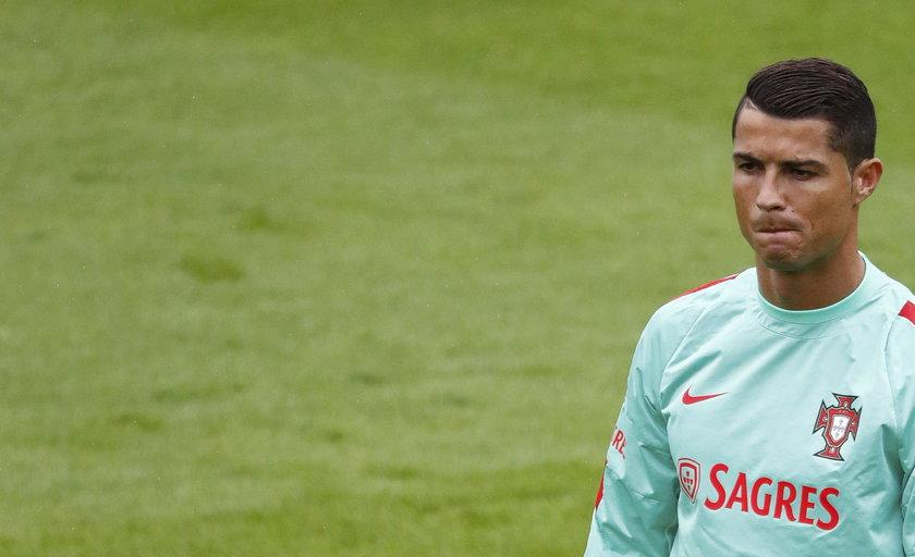 Cristiano Ronaldo nie popisał się