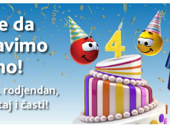 SUPER KARTICA proslavlja rođendan i daruje korisnike