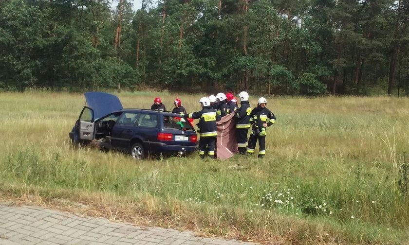 Kierująca tłumaczyła, że straciła panowanie nad samochodem