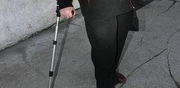 Szok! Inwalida atakował ofiarę kulą ortopedyczną
