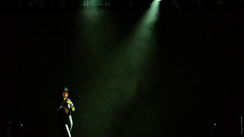 Alicia Keys w Poznaniu (fot. PAP/Jakub Kaczmarczyk)