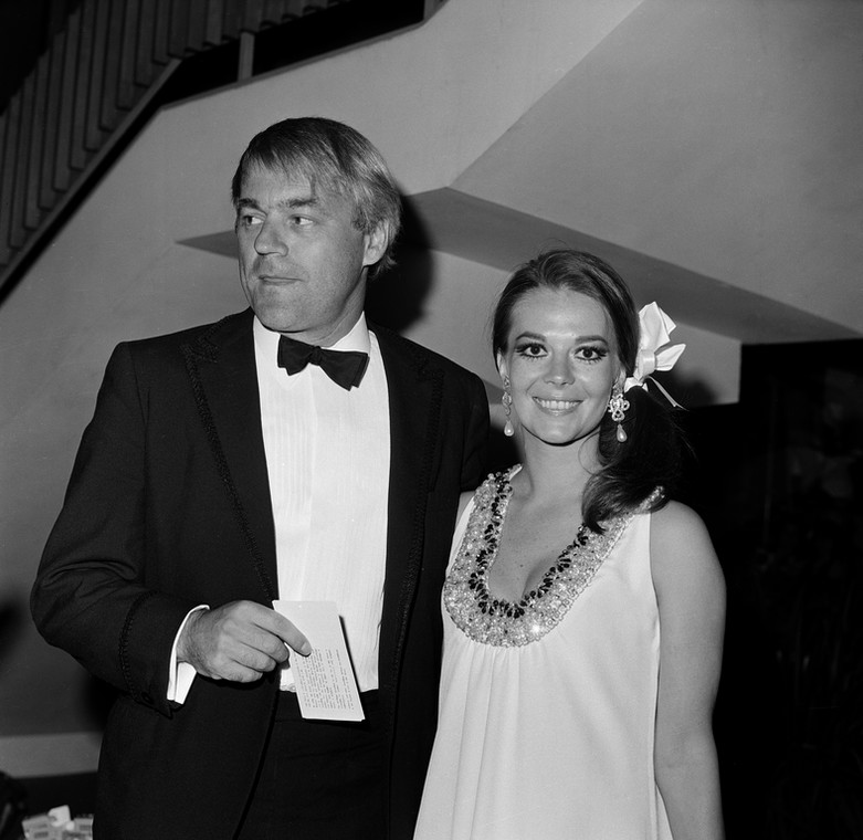 Natalie Wood i Richard Gregson w 1970 r.