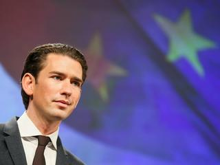 New Austrian Chancellor Sebastian Kurz in Brussels