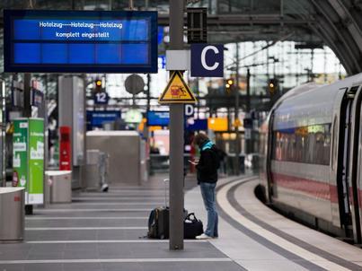 Orkan Ksawery sparaliżował transport kolejowy w Niemczech