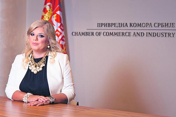 Branislava Simanić, direktorka Sektora preduzetništva Privredne komore Srbije