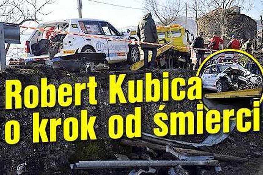 Kubica był o krok od śmierci